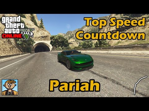 Fastest Sports Cars (Pariah, Raiden & C.Safari) - GTA 5 Best Fully Upgraded Cars Top Speed Countdown