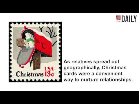 A Brief History of the Holiday Card from JSTOR Daily