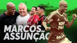 NA GAVETA #15 - MARCOS ASSUNÇÃO - Desafio de falta | Canal Zico 10