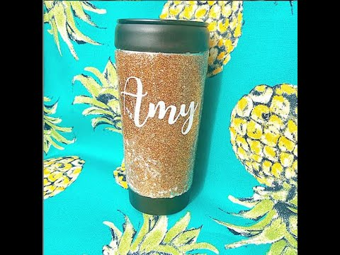 Glitter Tumblers in FIVE MINUTES explained, how to make glitter tumblers, resin craft