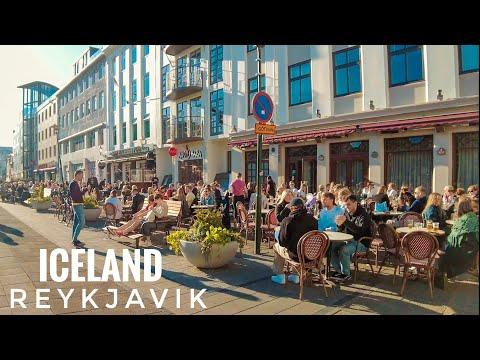 REYKJAVIK CITY WALK - ICELAND- 4K/60FPS - June 23, 2021