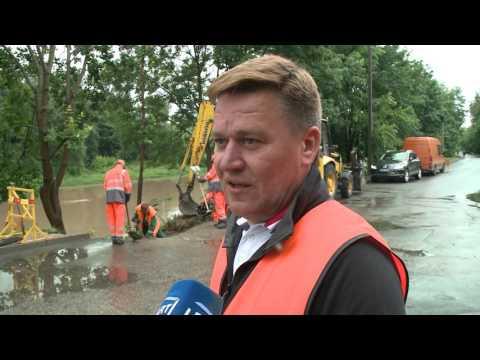 EBU Lithuania Vilnius floods