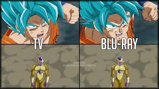 2016-2019 Dragon Ball Süper: TV/Orijinal VS Blu-Ray/DVD | Karşılaştırma ve düzeltme |