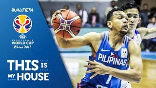 Jayson William - Philippines | Top Plays Rd.1 | FIBA Basketball World Cup 2019 Asian Qualifier