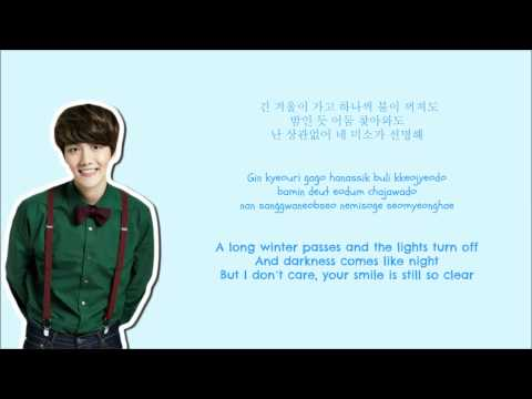 EXO - December,2014 (The Winter's Tale) Lyrics...