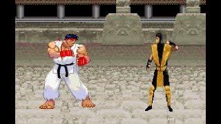 Mortal Kombat vs Street Fighter Teaser Trailer
