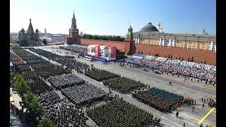 Парад в честь 75-летия Великой Победы