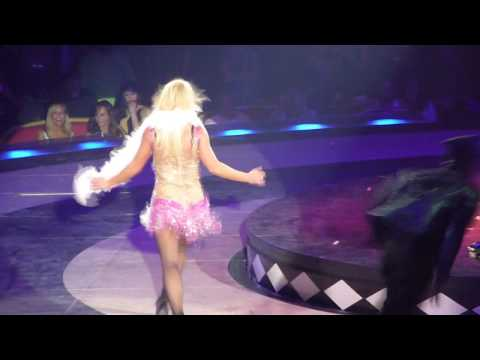 Britney Spears live at TD Banknorth Garden - Ooh Ooh Baby and Hot As Ice