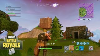 Dieing before getting the win-Fortnite Battle Royale