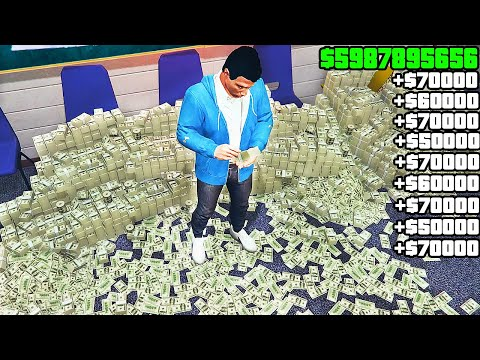 TOP Solo ways to make Money in GTA Online (Easy Money)