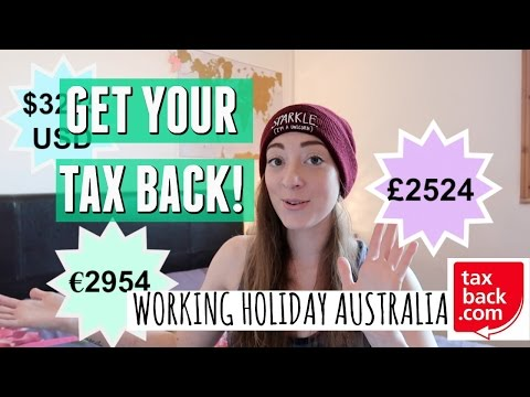 How To Get Your Tax Back| Working Holiday Australia