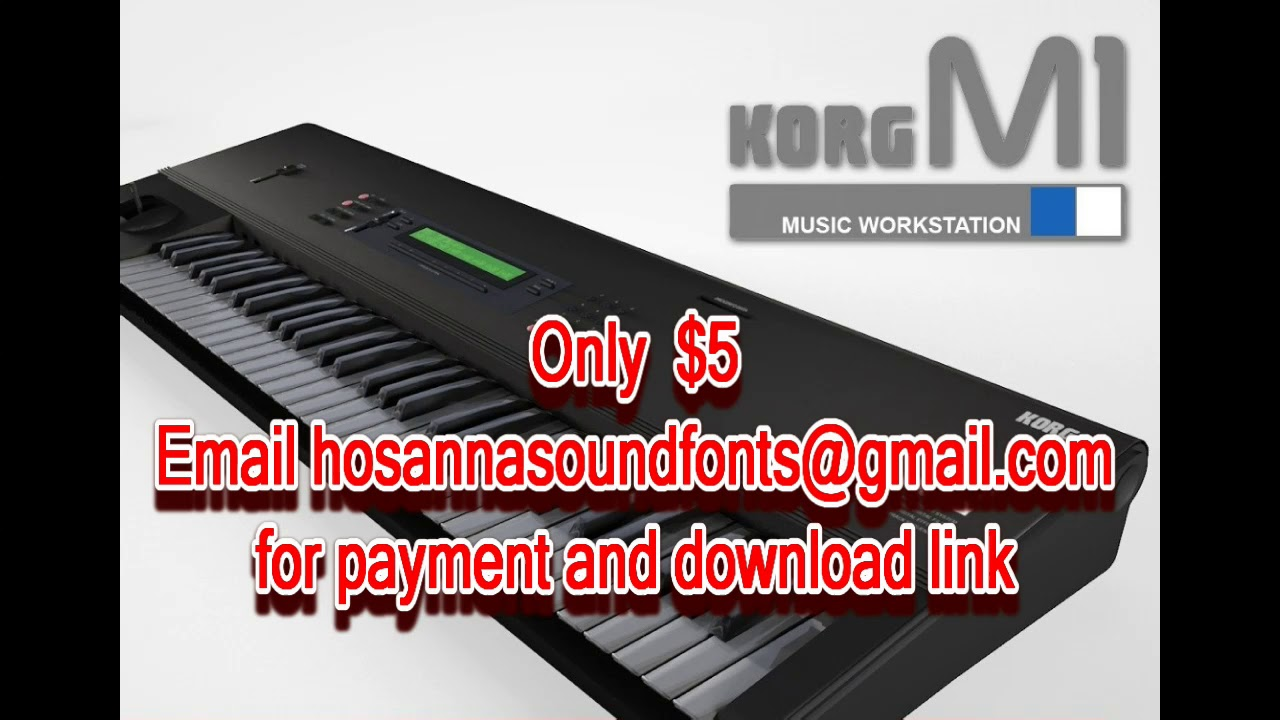 Korg M1/T1 EP2 Soundfont Patch (As used by Tom Brooks on Ron Kenoly Jesus  is Alive)