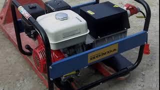 Електроагрегат шляховий бензиновий АБ4 c двигуном Honda