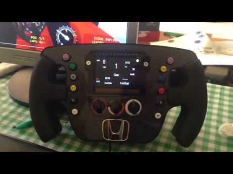 Steering Wheel F1 Mclaren Honda Logitech Thrustmaster