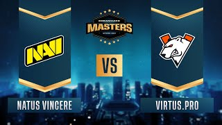 CS:GO - Natus Vincere vs. Virtus.pro [Dust2] Map 1 - DreamHack Masters Spring 2021- Group A