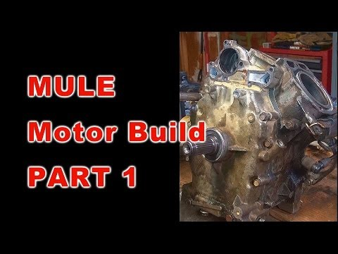 Kawasaki Mule Motor Build: PART 1 OF 3