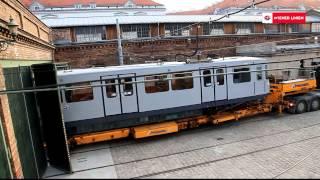 Nachts im Museum: Überstellung Silberpfeil ins Verkehrsmuseum
