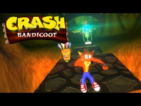 Crash Bandicoot for PC: Unity Game   Full Playthrough [ No Commentary ]