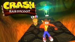 Crash Bandicoot for PC: Unity Game | Full Playthrough [ No Commentary ]