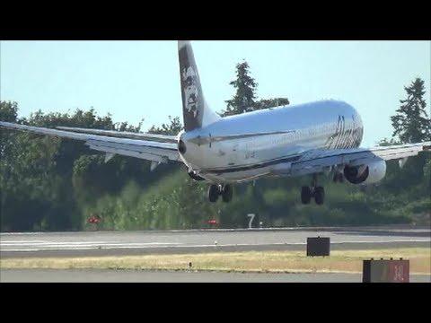 Plane Spotting at SeaTac Airport (KSEA)