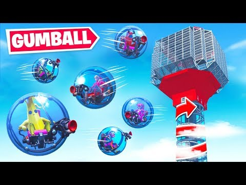 *GIANT* GUMBALL Machine Game Mode in Fortnite Battle Royale