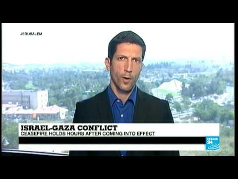 ISRAEL & GAZA CONFLICT: Israel & Palestine Negotiations Hold Peace Talks (GRAB)