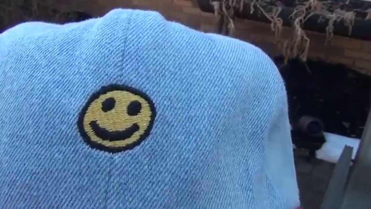 Golf wang happy denim strapback hat youtube jpg 1280x720 Blue golf wang hat 400c588e5e1b