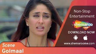 Comedy self-sacrifice scene from Golmaal Returns - Kareena Kapoor Khan - Ajay Devgan