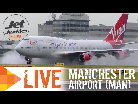 MANCHESTER AIRPORT LIVE | August 2018 | Jet Junkies Live