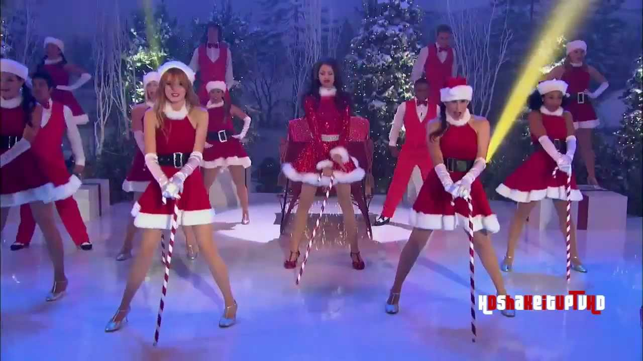 Shake It Up - Shake Santa Shake - Zendaya - YouTube