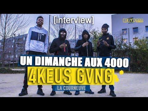 """4KEUS GANG : INTERVIEW AUX 4000 -  """"Pour répondre aux fans, ouais, on est bien séparés…"""""""