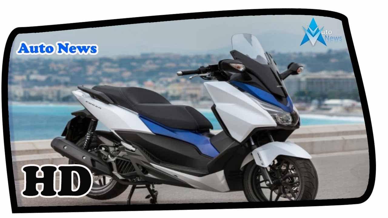 2018 Honda Forza 300 Vs Yamaha Xmax 300 Scooter Bike 300cc Youtube