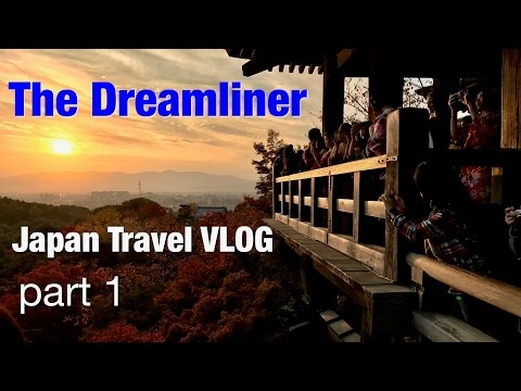 Boeing 787 - Japan Travel VLOG part 1