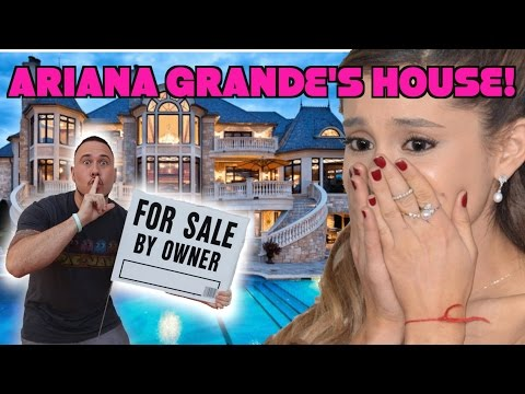 I PUT ARIANA GRANDES HOUSE UP FOR SALE!