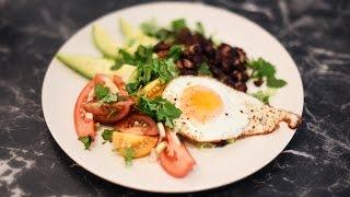 Salade de quinoa aux haricots rouges croustillants