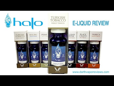 "Halo Cigs: V-Type ""Turkish Tobacco"" E-Liquid Review"