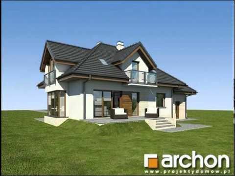 Dom W Werbenach N Projekty Domów Archon Wwwarchonpl Youtube