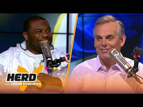 CJ Anderson on how he adjusted quickly with Rams, playing for McVay & SB LIII loss | NFL | THE HERD