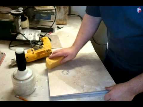 How To Properly Hole Saw A Porcelain Tile YouTube - Diamond tip hole saw for tile