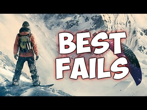 STEEP | BEST FAILS COMPILATION (E3 2016 Gameplay)