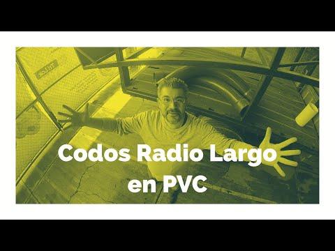 """Codos Radio Largo """"Tipo Curva"""""""