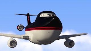 Мультфильмы - Будни аэропорта - Соблюдай правила, Тайфун! (16 серия)