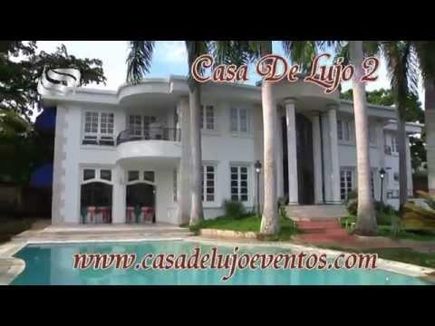Casa de lujo para eventos en ciudad jardin youtube for Casas para jardin de pvc
