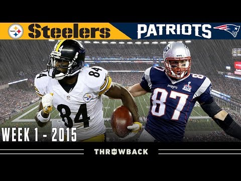 Gronk TAKES OVER Opening Night! (Steelers vs. Patriots, 2015 Week 1)