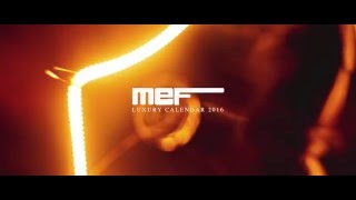Mef Luxury calendar 2016 -  Backstage Trailer
