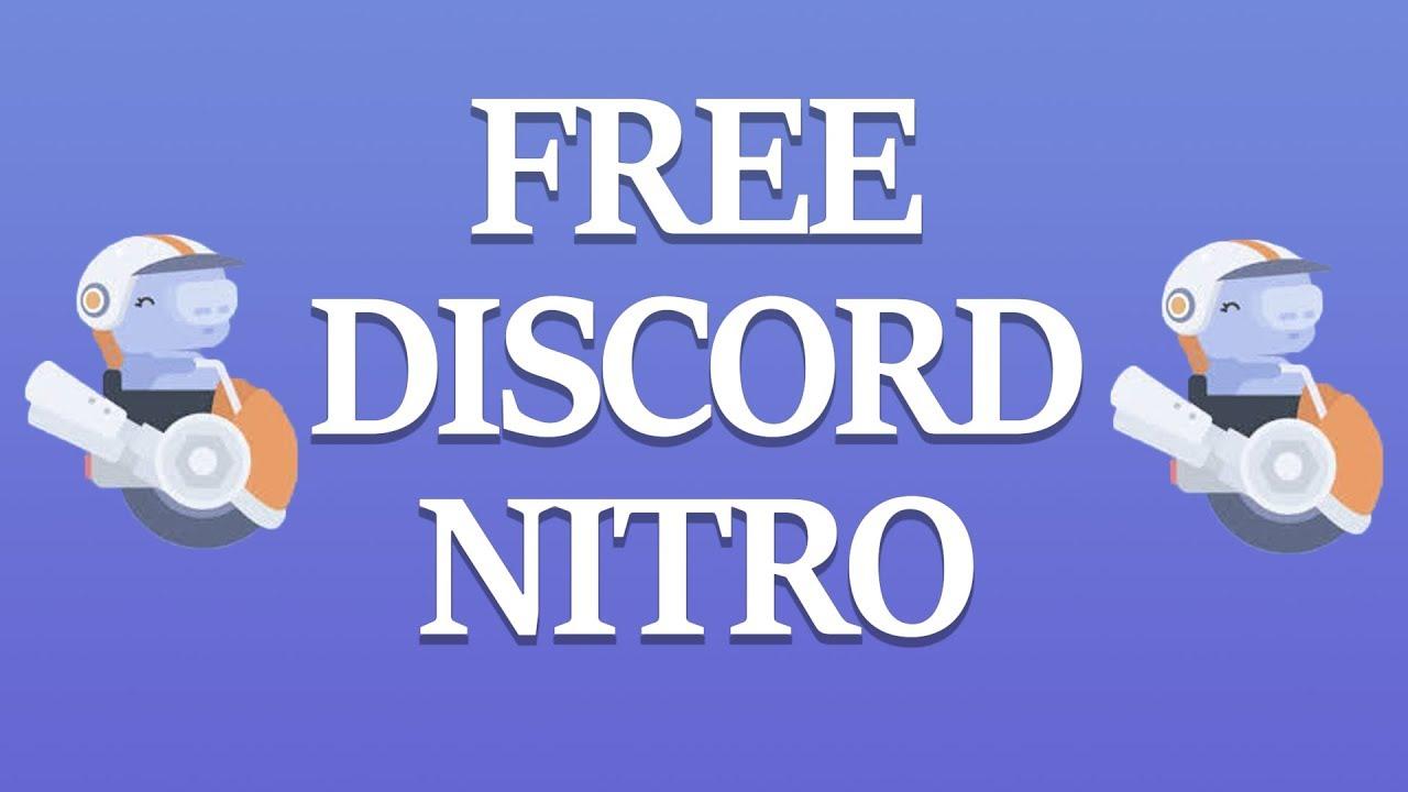 FREE DISCORD NITRO 2019 - YouTube