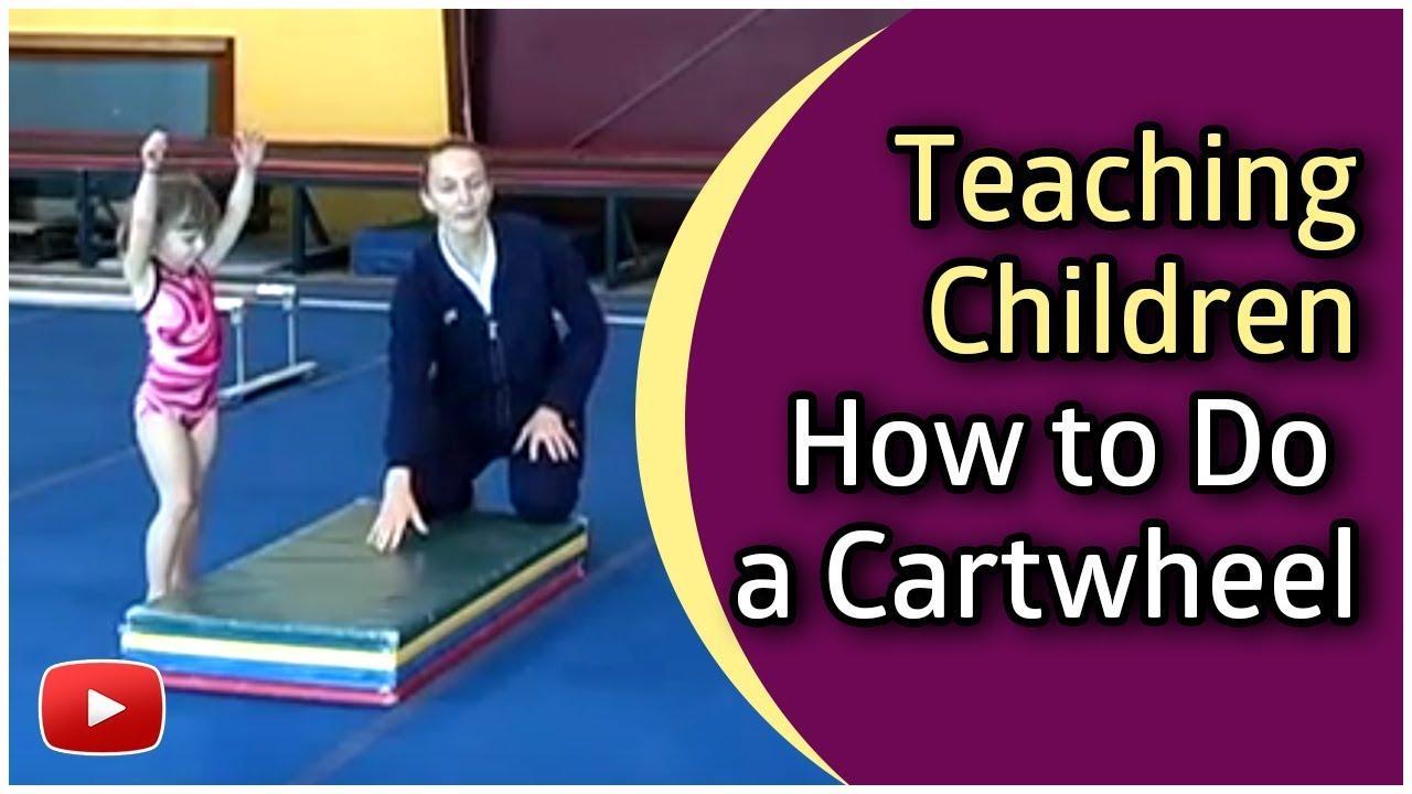 Gymnastics For Children - How To Do A Cartwheel