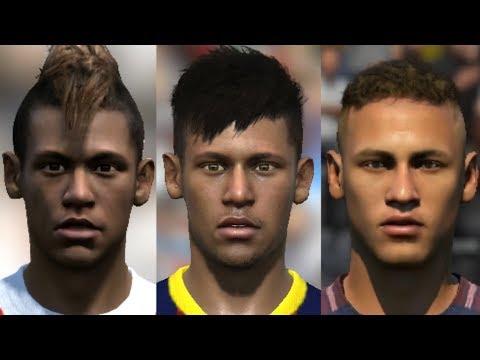 Neymar Jr Transformation From FIFA 10 To FIFA 18