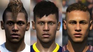 Neymar Jr transformation from FIFA 10 to FIFA 18 thumbnail