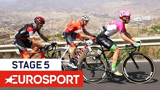 Clarke Prevails in Sprint, Molard Takes Leader's Jersey | Vuelta a España 2018 | Stage 5 Highlights